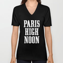 Paris High Noon Unisex V-Neck