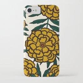Yellow Marigolds iPhone Case