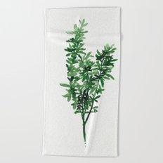 Plant 2 Beach Towel