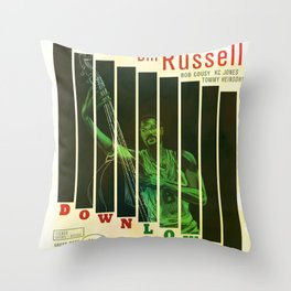 Down Low Throw Pillow
