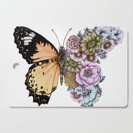 Butterfly in Bloom II Cutting Board