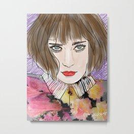Floral chloe Metal Print