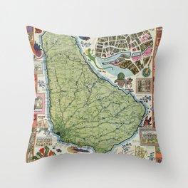 Barbados Throw Pillow