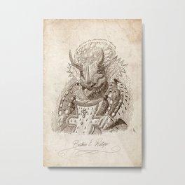 Béatrice E. Ratops Metal Print