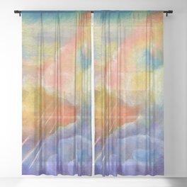 Cloud Swing Sheer Curtain