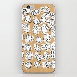 Manos Mickey iPhone Skin