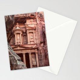 Petra | Al Khazneh (The Treasury) Incredible Historical Archeological City Southern Jordan Stationery Cards