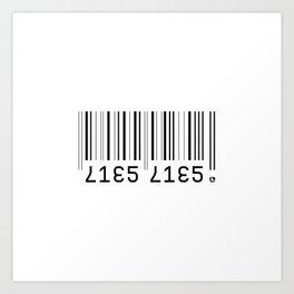 Lies Lies Art Print