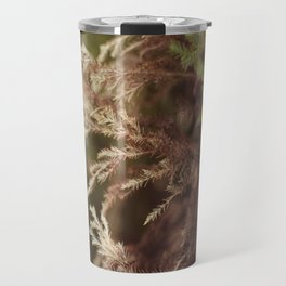 Pine and bokeh Travel Mug