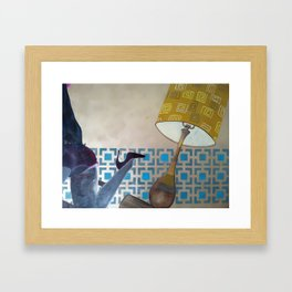 Fireside Framed Art Print