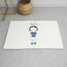 Personalized Art - Leo Rug