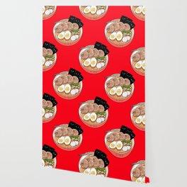 Ramen Pugs Wallpaper