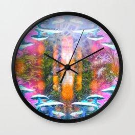 Mycological Majesty Wall Clock