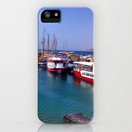 Israeli Dock iPhone Case