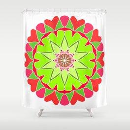 Elegant mandala Shower Curtain