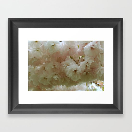Floating in the Clouds Framed Art Print