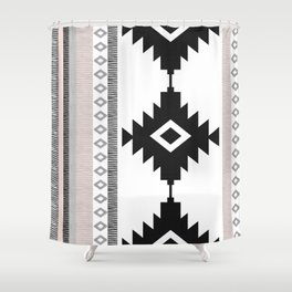 Pueblo in Pink Shower Curtain