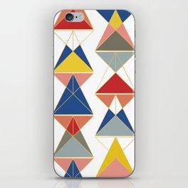 Triangular Affair iPhone Skin