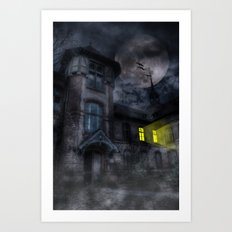 Fright Night Art Print
