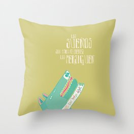 Sueños Throw Pillow