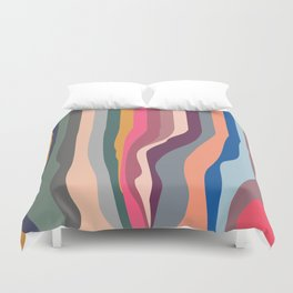 Order to Chaos Duvet Cover