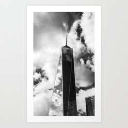 Freedom Tower B/W Art Print