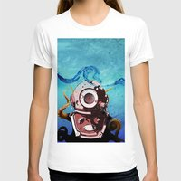 diver T-shirts featuring Diver by Tony Vazquez