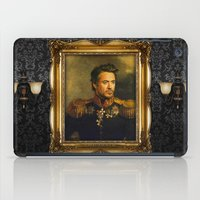 actor iPad Cases featuring Robert Downey Jr. - replaceface by replaceface