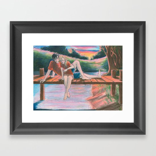Light Outside Framed Art Print