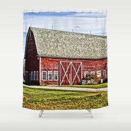 Wisconsin Old Barn 4 Shower Curtain