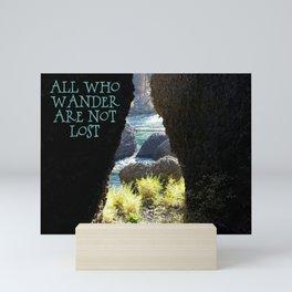 All Who Wander Mini Art Print
