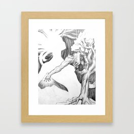 Unfinished Love.  Framed Art Print