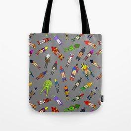 Butt of Superhero Villian - Dark Tote Bag