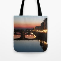florence Tote Bags featuring Florence  by AntWoman