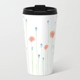 Delicate poppies Travel Mug