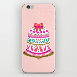 Holiday Bell by Andrea Lauren  iPhone Skin