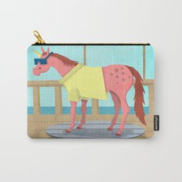 Summer Stroll Unicorn Carry-All Pouch