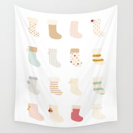 Stockings 2 Wall Tapestry