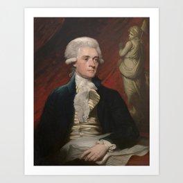 Thomas Jefferson Painting Art Print
