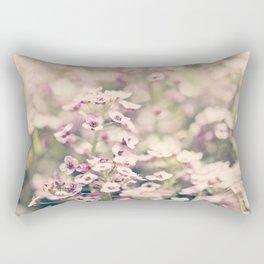 Sweet Alyssum Rectangular Pillow