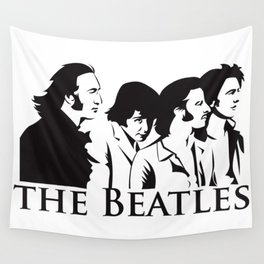 Paul, John, George and Ringo Wall Tapestry
