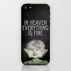 In Heaven Everything is Fine - Eraserhead iPhone & iPod Skin