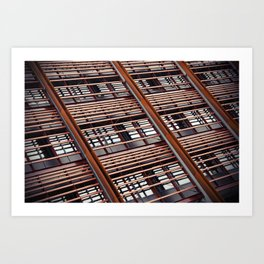 Architectural Lines Art Print