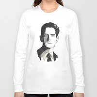 twin peaks Long Sleeve T-shirts featuring twin peaks by sharon