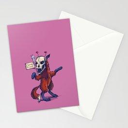 Debutante Fox Stationery Cards