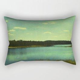 Evening at the Lake Rectangular Pillow
