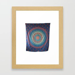 Traditional Cotton Wall Hanging Framed Art Print
