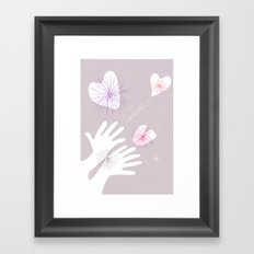 GIVE! Framed Art Print