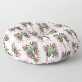 Saturnia danum orbis Floor Pillow