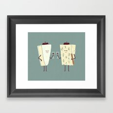 Frencheese Framed Art Print